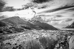 Mt Fall国王 图库摄影