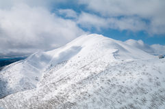 Mt Feathertop arkivfoto