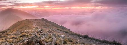 Mt Feathertop - Australie Photos stock
