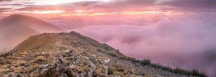 Mt Feathertop - Australien Arkivfoton
