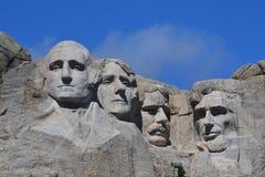 Mt Fim de Rushmore acima Imagens de Stock Royalty Free