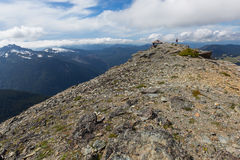 Mt. Freemont Lookout in Mt. Rainier National Park Royalty Free Stock Photo