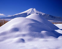 Mt,fuji-182. Cool winter view of Mount Fuji Stock Image