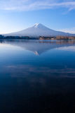 Mt.Fuji in autumn, Kawaguchi Japan   Stock Photos
