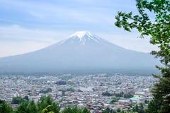 Mt fuji Royaltyfria Foton