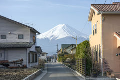Mt Fuji Stockbild