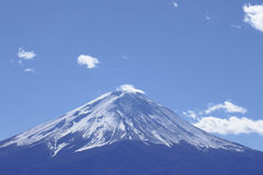 Mt Fuji against blue sky Royalty Free Stock Photo