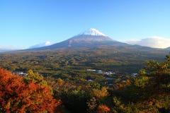 Mt. Fuji in autumn Stock Image