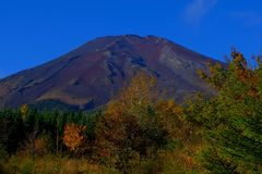 Mt.Fuji in autumn stock photos