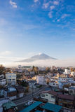 Mt.Fuji in Autumn royalty free stock photography
