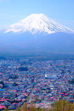 Mt Fuji and Cherry Blossom  in Japan Spring Season (Japanese Cal Royalty Free Stock Photos