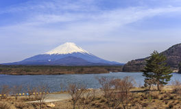Mt.fuji chez Shoji Lake Images libres de droits