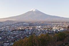 MT Fuji in de herfst, Japan stock fotografie