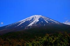Mt Fuji de la 5ème préfecture de Yamanashi de ` d'Okuniwa de ` de station Japon Photographie stock libre de droits