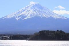 MT Fuji in de winter Stock Afbeelding