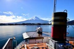Mt Fuji del lago Kawaguchiko Fotografía de archivo libre de regalías