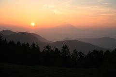 Mt fuji dg-25 Imágenes de archivo libres de regalías