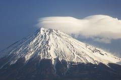 Mt fuji-dg14. The cluod turn round on Mt, fuji-4 Stock Photos