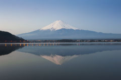 Mt Fuji in the early morning Royalty Free Stock Photography