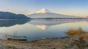 Mt Fuji in the early morning Stock Image