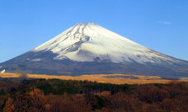 Mt Fuji en automne Photo stock