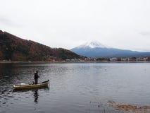 MT Fuji en meerkawaguchiko Royalty-vrije Stock Fotografie