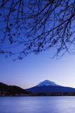 Mt. Fuji at evening Royalty Free Stock Images