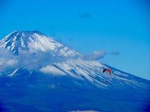 Mt. Fuji, famous japanese landmark royalty free stock photography