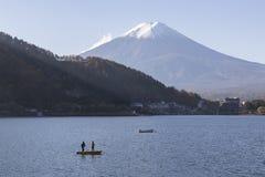 Mt Fuji i hösten, Japan Royaltyfri Fotografi