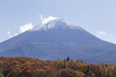 Mt Fuji i hösten, Japan Royaltyfri Foto