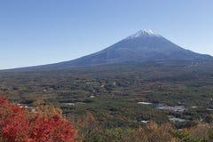 Mt Fuji i hösten, Japan Fotografering för Bildbyråer
