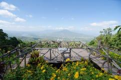 Mt Fuji i Loei, Thailand Royaltyfri Foto