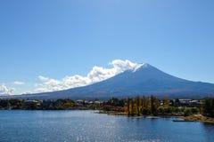 Mt Fuji in inverno Immagini Stock Libere da Diritti