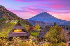 Mt Fuji Japan royaltyfria bilder