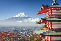 Mt fuji japan mt Arkivfoto