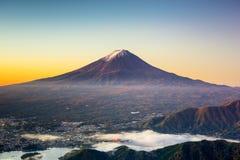 Mt. Fuji in japan Stock Images