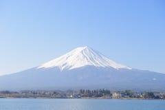 Mt.Fuji and Kawaguchiko Stock Photo