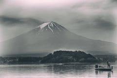 Mt. Fuji, Lake Kawaguchi, Japan. Mt. Fuji and Lake Kawaguchi, Japan stock photo