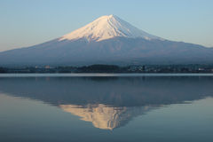 Mt.Fuji at Lake Kawaguchi Royalty Free Stock Images