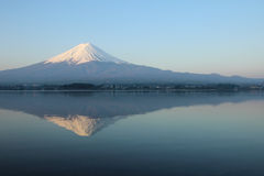 Mt.Fuji at Lake Kawaguchi Stock Photos