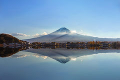 Mt. Fuji at Lake Kawaguchiko Stock Images