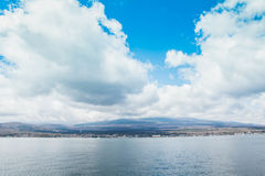 Mt fuji and Lake ,the most famous place in Japan to traveling. Royalty Free Stock Photography