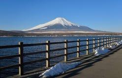 Mt.Fuji at Lake Yamanaka Royalty Free Stock Photography