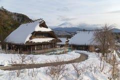 Mt Fuji nell'inverno, Giappone Immagini Stock Libere da Diritti