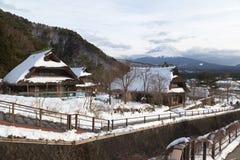 Mt Fuji nell'inverno, Giappone Fotografia Stock