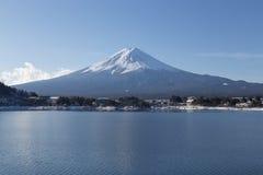 Mt Fuji nell'inverno, Giappone Immagine Stock Libera da Diritti