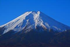 Mt Fuji od Fujiyoshida miasta, Japonia Zdjęcia Stock