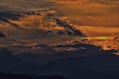 Mt Fuji półmrok obrazy royalty free