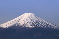 Mt Fuji peak, Japan. Mt Fuji, Japan - is the highest mountain in Japan located on Honshu Island Stock Photos