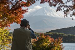 Mt Fuji Photographer Stock Photography